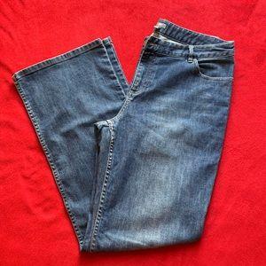 J. Jill Wide Leg Stretch Jeans. Size 10